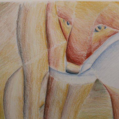 Cubist Fox